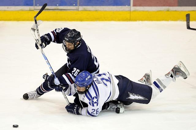 souboj v hokeji